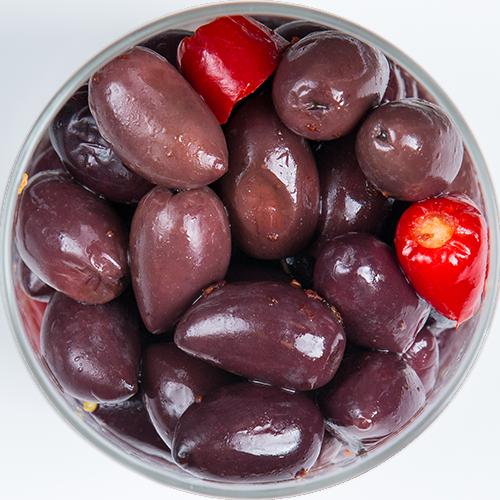 Finger Food: Olive Nere Siciliane, F.lli Burgio Siracusa